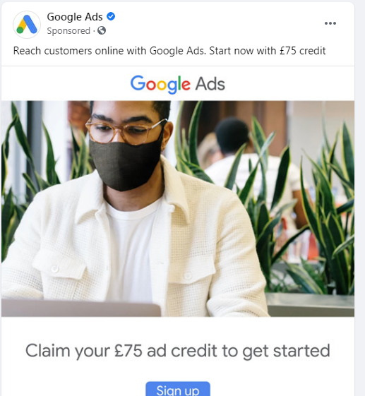 facebook ad in news feed
